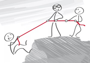 ein starker Partner, gemeinsam das Ziel erreichen
